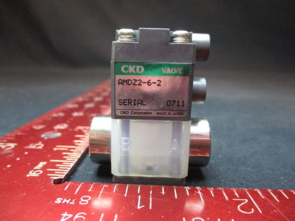 CKD CORPORATION AMDZ2-6-2 VALVE SEMIX AIR OPERATED V16-2