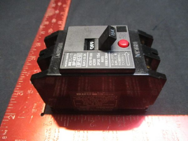 MINEBEA-MATSUSHITA BJK2-15-3K BREAKER, CIRCUIT 200V 15A