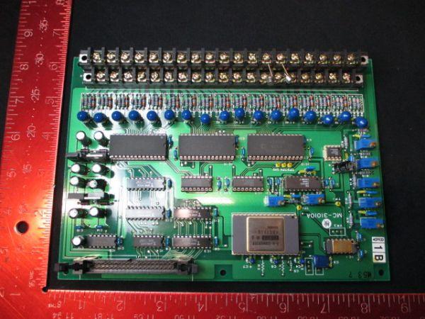 TOKYO ELECTRON (TEL) DS118100005316   PCB, MC-31010A