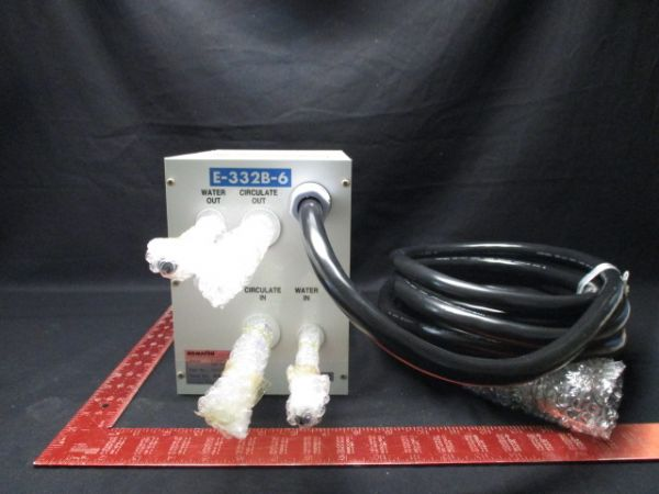 KOMATSU ELECTRONICS E-332B-6-UL CHEMICAL CIRCULATOR CHILLER W/ CONTROLLER