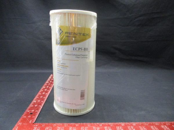 PENTEK ECP5-BB PLEATED CELLULOSE/POLYESTER FILTER CARTRIDGE