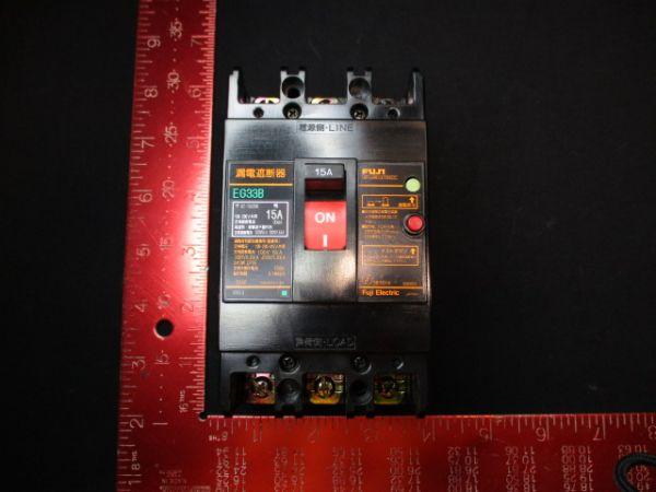 FUJI ELECTRIC EG33B-15-30MA CIRCUIT, BREAKER 15-30MA 200V