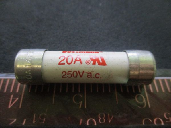 BUSSMANN FWX-20A14FB FUSE, 250V, 20A