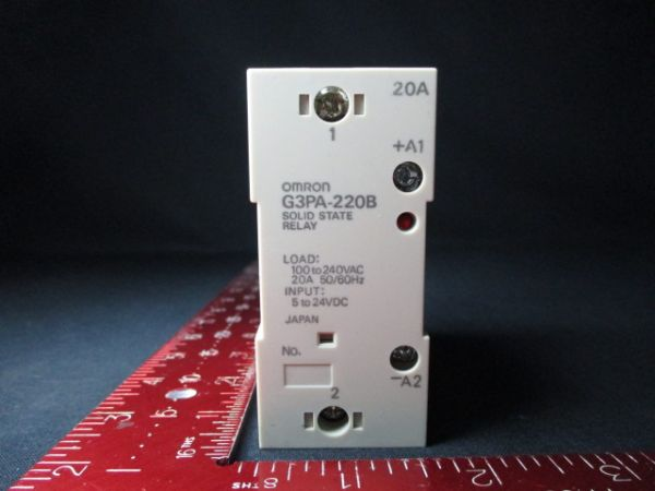 ASML 93712-00003 OMRON G3PA-220B RELAY, SOLID STATE