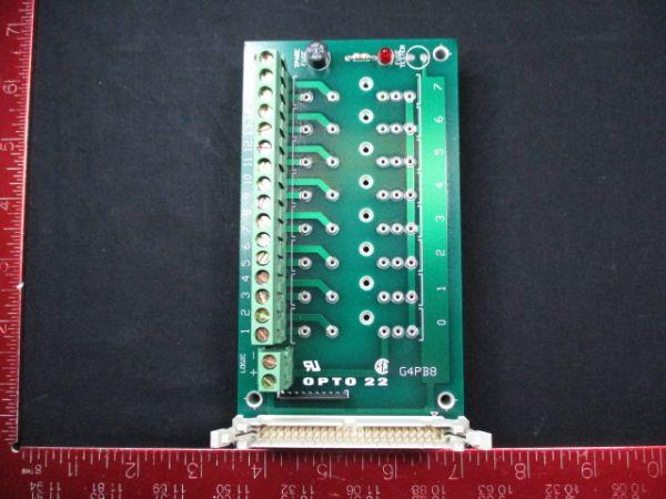 OPTO 22 G4PB8 RACK, PCB MOUNTING 8 CHANNEL