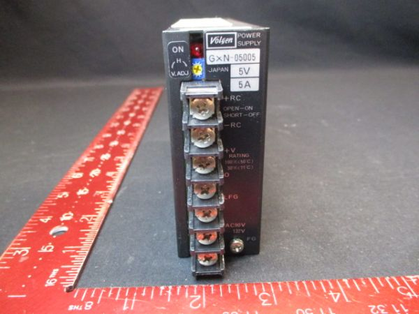 NIKON GXN-05005 VOLGEN  SUPPLY, POWER 5V 5A