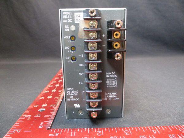 TDK-LAMBDA-PHYSIK-NEMIC HR-11-24 POWER SUPPLY 5.0A