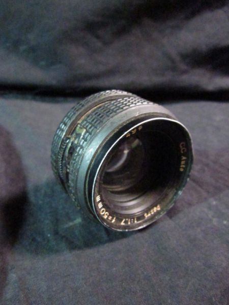 PETRO CAMERA CO 117 Lens f50mm CC Auto