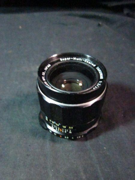 Asahi Opt Co 1235 Lens Super-Multi-Coated TAKUMAR