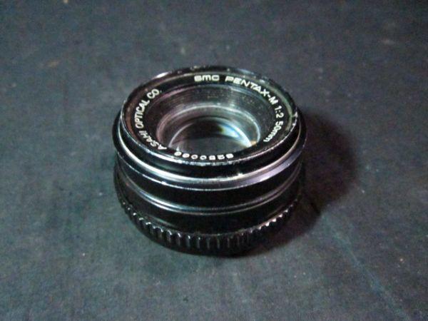 Asahi Opt Co 12 Lens SMC PENTAMAX-M 50mm Does not Zoom in