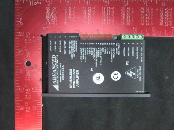 ADVANCED MOTION B15A8L BRUSHLESS PWM SERVO AMPLIFIER