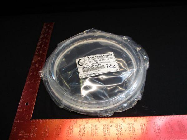 Applied Materials (AMAT) 0200-10414 WEST COAST QUARTZ  RING, FOCUS, QUARTZ