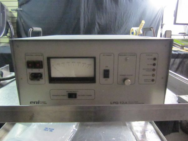 ENI LPG-12AL SOLID STATE RF GENERATOR