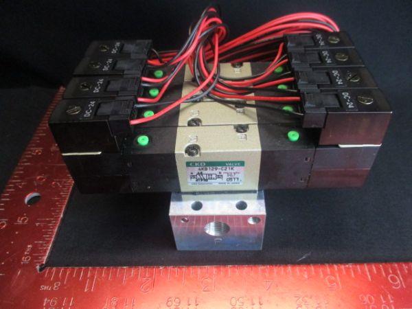 CKD CORPORATION M4KB120-M5-C21K-4-FL185782-3 DC24v, 1119, 0-0.7 MPa VALVE