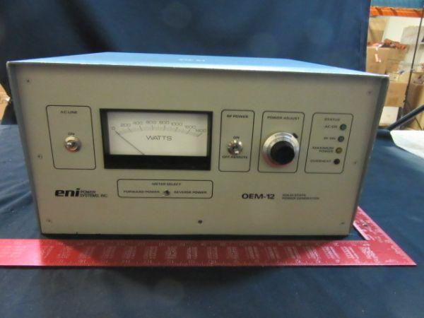 ENI OEM-12 ENI OEM-12 1250W 13.56 MHz RF Generator