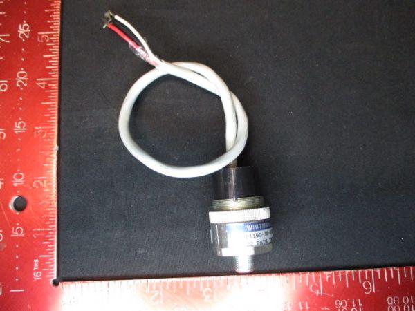 WHITMAN CONTROLS CORP P119G-3N-K52L-X PRESSURE SWITCH