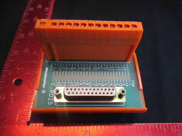 WEIDMULLER RD-25ASJS CONNECTOR, MODULE