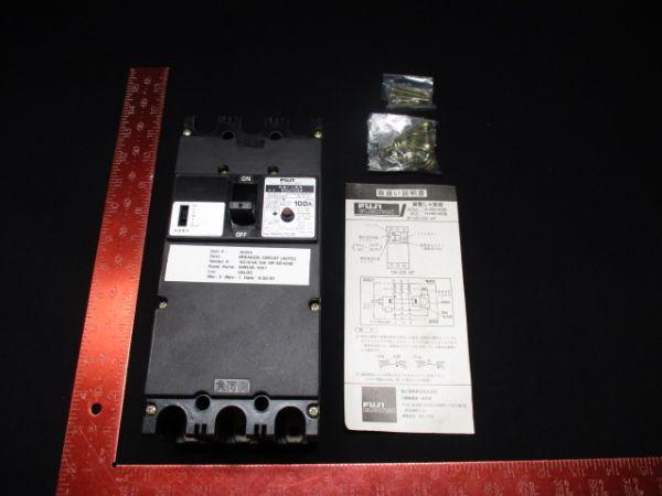 FUJI ELECTRIC SGa103A CIRCUIT BREAKER 100A