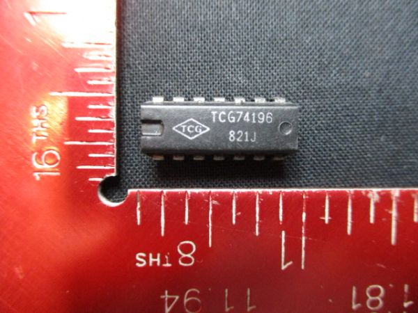 TEXAS INSTRUMENTS TGC74196 IC 14 PIN (PSCK OF 10)