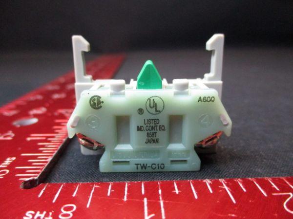 IDEC IZUMI CORP TW-C10 CONTACT BLOCK