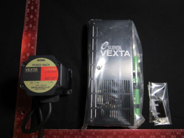 ORIENTAL MOTOR CO UPK569-NACM MOTOR, SUPER VEXTA 5-PH DRIVER UDK5114N-M