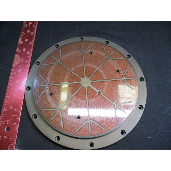 """Applied Materials (AMAT) 0010-10327 ESC SHELL ASSY,200MM,NOTCH(2),5MIC,0.8""""THK,S"""