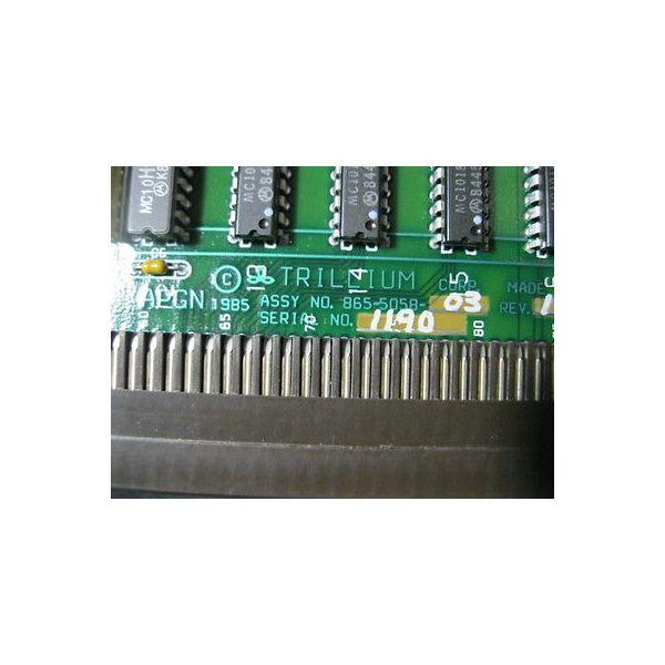 TRILLIUM 865-5058-03 TRILLIUM PCB APGN
