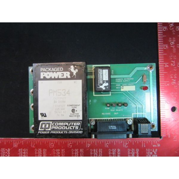 Applied Materials (AMAT) 0100-00071   PCB, REMOTE KEYBARD POWER SUPPLY