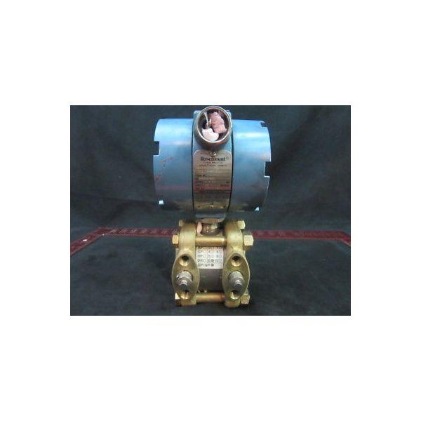 Rosemount 1151DP6E12 PRESSURE TRANSMITTER SERIAL NUMBER: 760779, OUTPUT 4-20 MA,