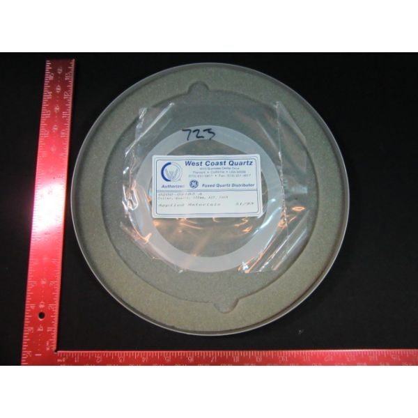 Applied Materials (AMAT) 0200-09483   COLLAR, QUARTZ, 150mm, EXT. CATH