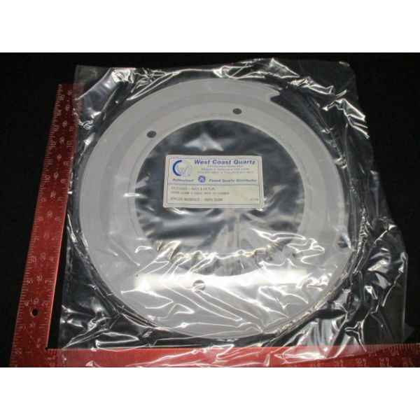 Applied Materials 0200-40103 WEST COAST QTZ CVR 200MM, ECHUCK, MARK IV CHAMBER