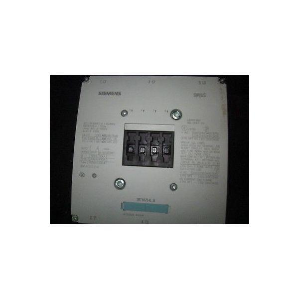 Siemens 3RT1075-6AM36 Siemens 3RT1075-6AM36, CONTACTOR, 270A, 3PH, 208V, 50/60 H