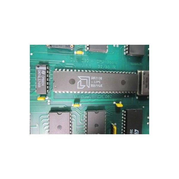 LOTSEITE 532-5 PCB CUP BOARD DUAL Z80 V1.1 22/88