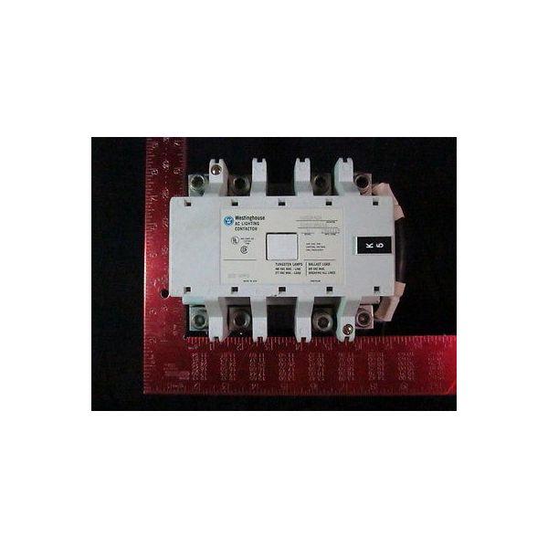 Westinghouse A202K4DA Contractor 4pole AC Lighting 480/277V 200Amp,120V coil