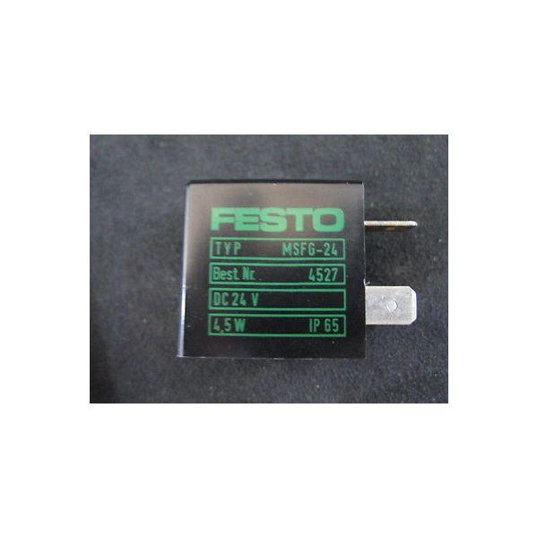 FESTO MSFG-24-4527 FESTO; TYPE: MSFG-24, BEST NR.: 4527, DC 24V, 4,5W, IP 65