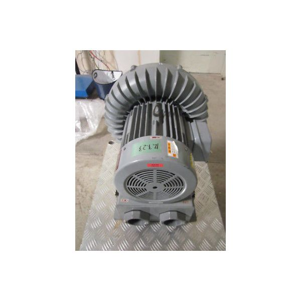 HITACHI VB-060-E VORTEX BLOWER, 3-PHASE, 2-POLE; 50HZ, 3.8kW, 200V, 14.5A, 1950m