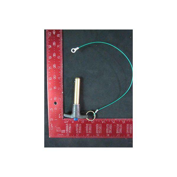 AMAT 3550-00111 Pin Ball Lock T-HDL QK-REL 1/2DIA X 2.0L-GRIP STL with CA