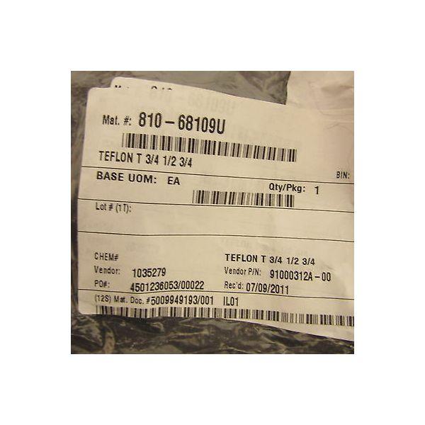 """PARKER 91000311a-00 PFA 3/4"""" Flare Union Tee, 1/2"""" 3/4"""" 1/2"""""""