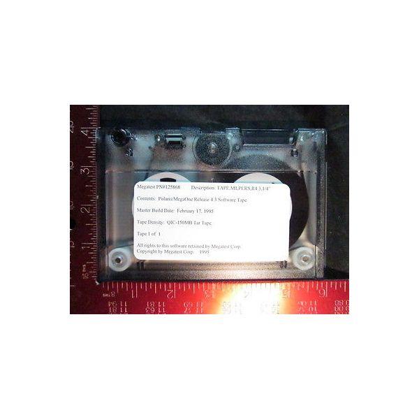 MEGATEST 125868 Polaris/MegaOne Incremental Release Software 4.3; TAPE, M1, PLRS