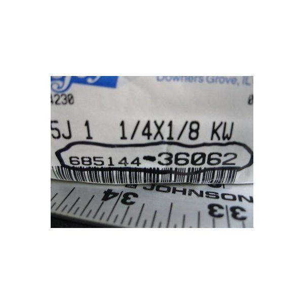 LOVEJOY 685144-36062 5J-1; 1/4 X 1/8 KW,MAX RPM 7600