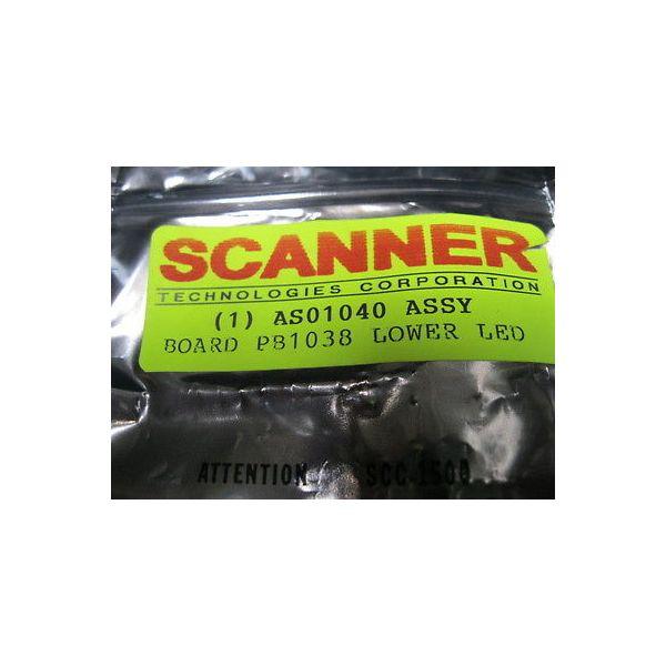 SCANNER TECHNOLOGIES ASO1040 LED, LOWER ARRAY