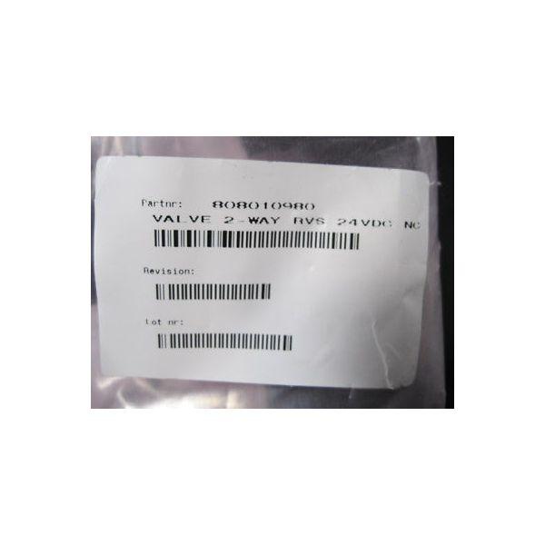 ASML 808010980 VALVE, 2-WAY 24VDC NC