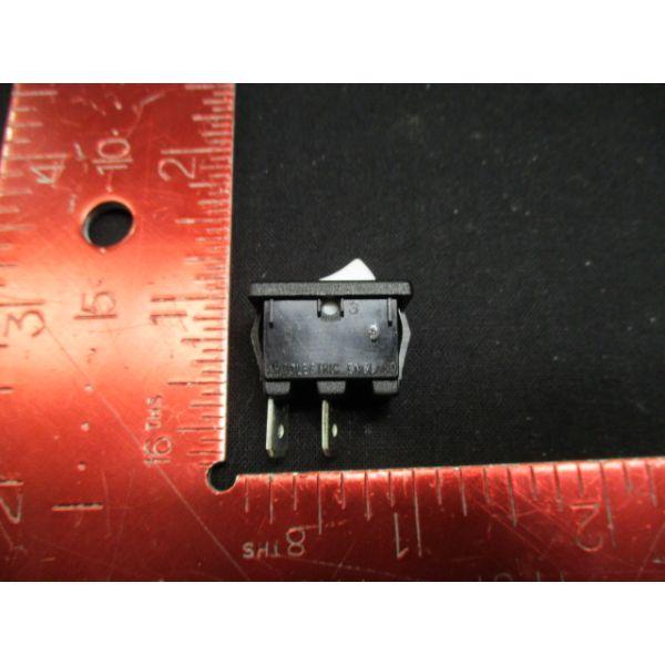 Applied Materials (AMAT) 1270-01594   SWITCH ROCKER SPST 10A 125-250VAC WHT