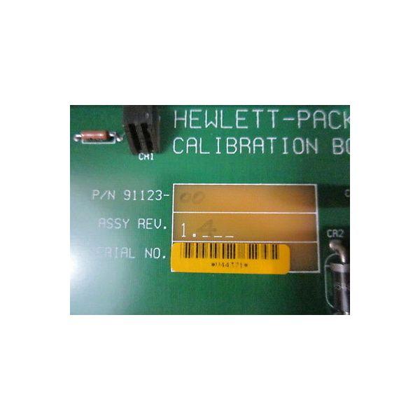HP 91123-00 PCB  V2100 CALIBRATION BOARD
