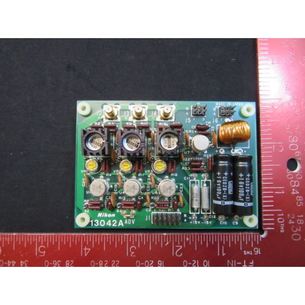 NIKON 13042A PCB, A0V,KBB00016-AE4 K-LINE BODIES 3-4 ST