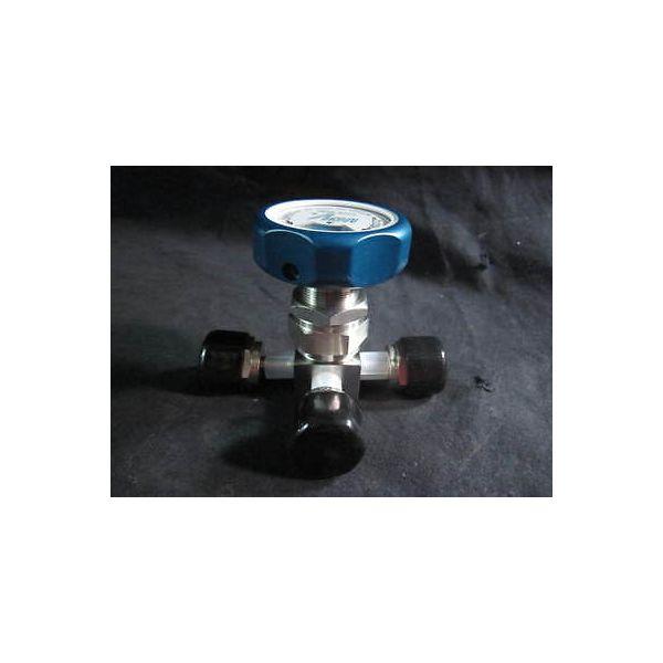 MOTOYAMA B04462 VALVE 316 SS, METAL DIAPHRAGM 2ET4RV 1 LV 1/4