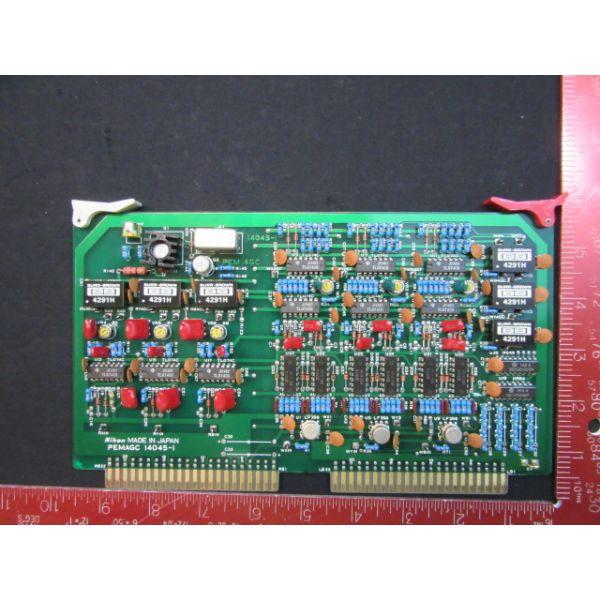 NIKON 14045-1   NEW (Not in Original Packaging) PCB, PEMAGC