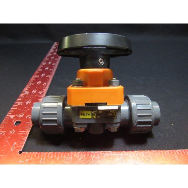 """Georg Fischer GmbH 161.314.232 1/2"""" VALVE, PVC TYP 314 DN 15 PN 10"""