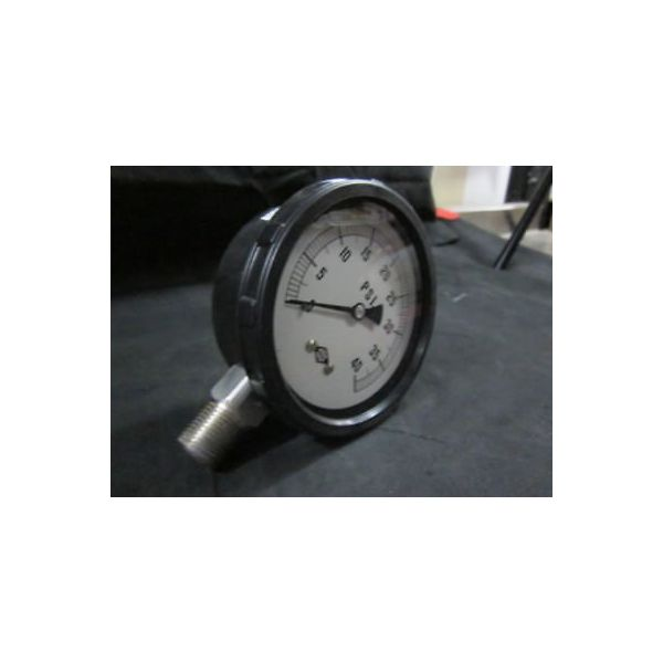 MEGO AFEK 164109 GAUGE PRES.0-40 PSI 4  1/2 NPT SS GLYC