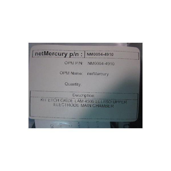 NET MERCURY NM0004-4910 KIT o-ring ETCH OXIDE LAM 4500 ELL/ISO UPPER  MAIN CH Q1